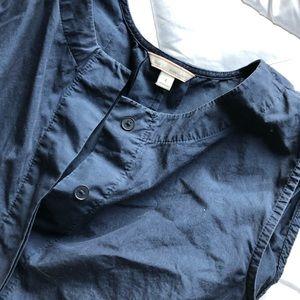 Gap Navy Blue, Button-Down Shift Dress